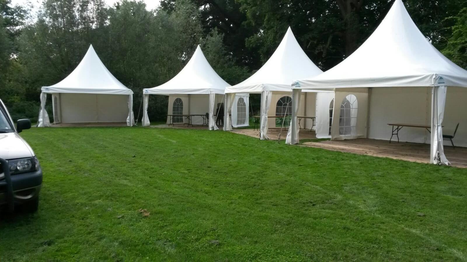 De tent voor uw privéfeest